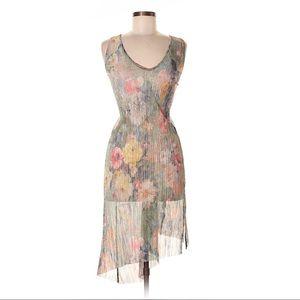 Zara Trafaluc metallic coverup/ dress